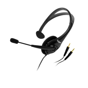 MIC0442P Microphone headset dipakai tour leader