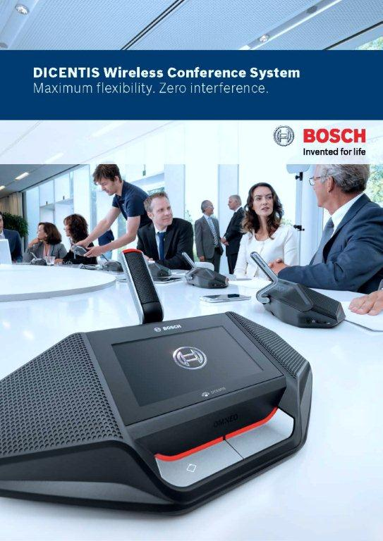 Mikrofon Bosch Wireless Dicentis