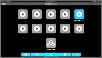 Taiden HCS-8368 menu VOD