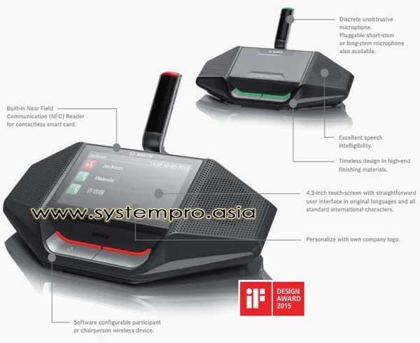Mikrofon-Bosch-Wireless-Design-Award