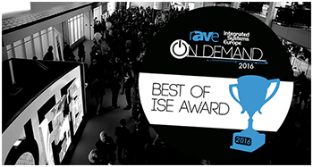 Trueconf penghargaan best new video conference product ISE 2016