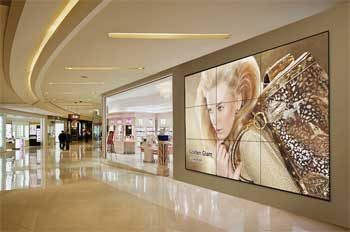 Video Wall Monitor Samsung di Mall