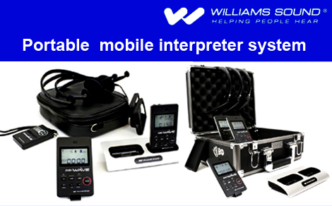 Williams sound mobile interpreter system
