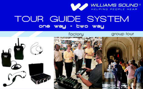 Williams sound factory office tour guide