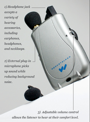 Williams sound pocketalker