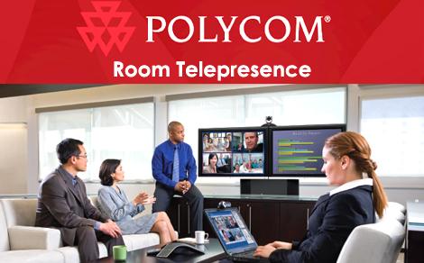 Polycom room telepresence