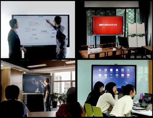 Papan Tulis Elektronik Digital Interaktif_Contoh Pemakaian