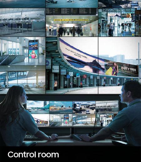 Jual Video Wall Monitor Samsung Indonesia. Ruang control/komando