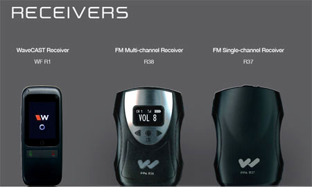 Alat interpreter FM Wifi Receiver
