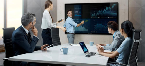 Papan Tulis Elektronik Digital Interaktif-Aplikasi Pemakaian