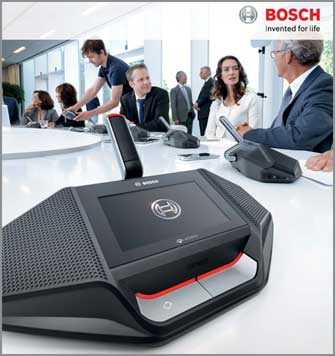 Wireless conference Dicentis mikrofon rapat Bosch Indonesia