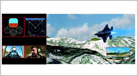 videowall dari berbagai sumber gambar